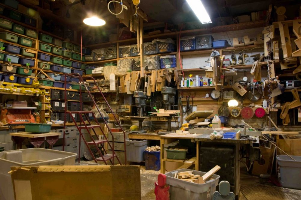 In the workshop: Tools & Machinery
