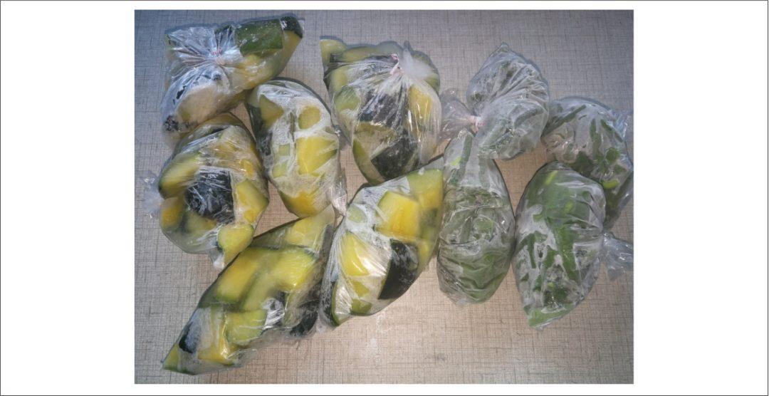 Long Weekend Vegetable Processing