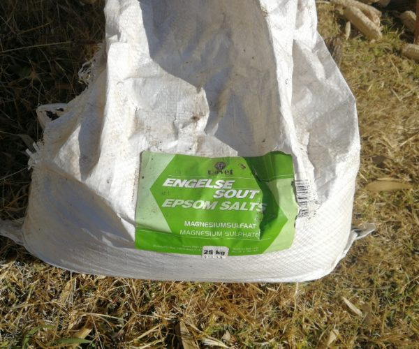 Using Epsom Salts in the Garden