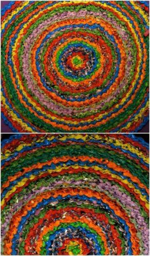 mats made from plarn