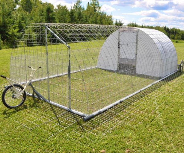 Try a Mobile Chicken Coop